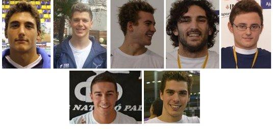Álex, Xisco, Joan Lluís, Marc, Juan, Pep Rafel i Alberto
