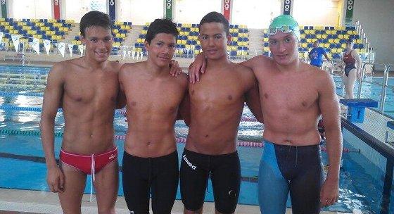 Tony, Sergio, Andrés i Hugo