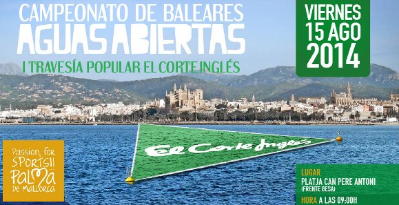 Campionat Balears aigües obertes 2014