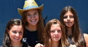 Alba, Pilar, Marta i Lucía