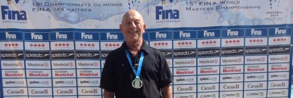 Vincent Miller, campió del món als 50 esquena