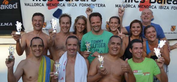 Equip de relleus de pares i mares guanyadors de la II edició de la Cronometrada 2014-2015